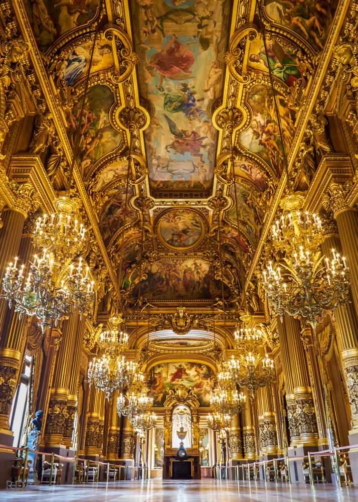 Opera House Paris Portrait