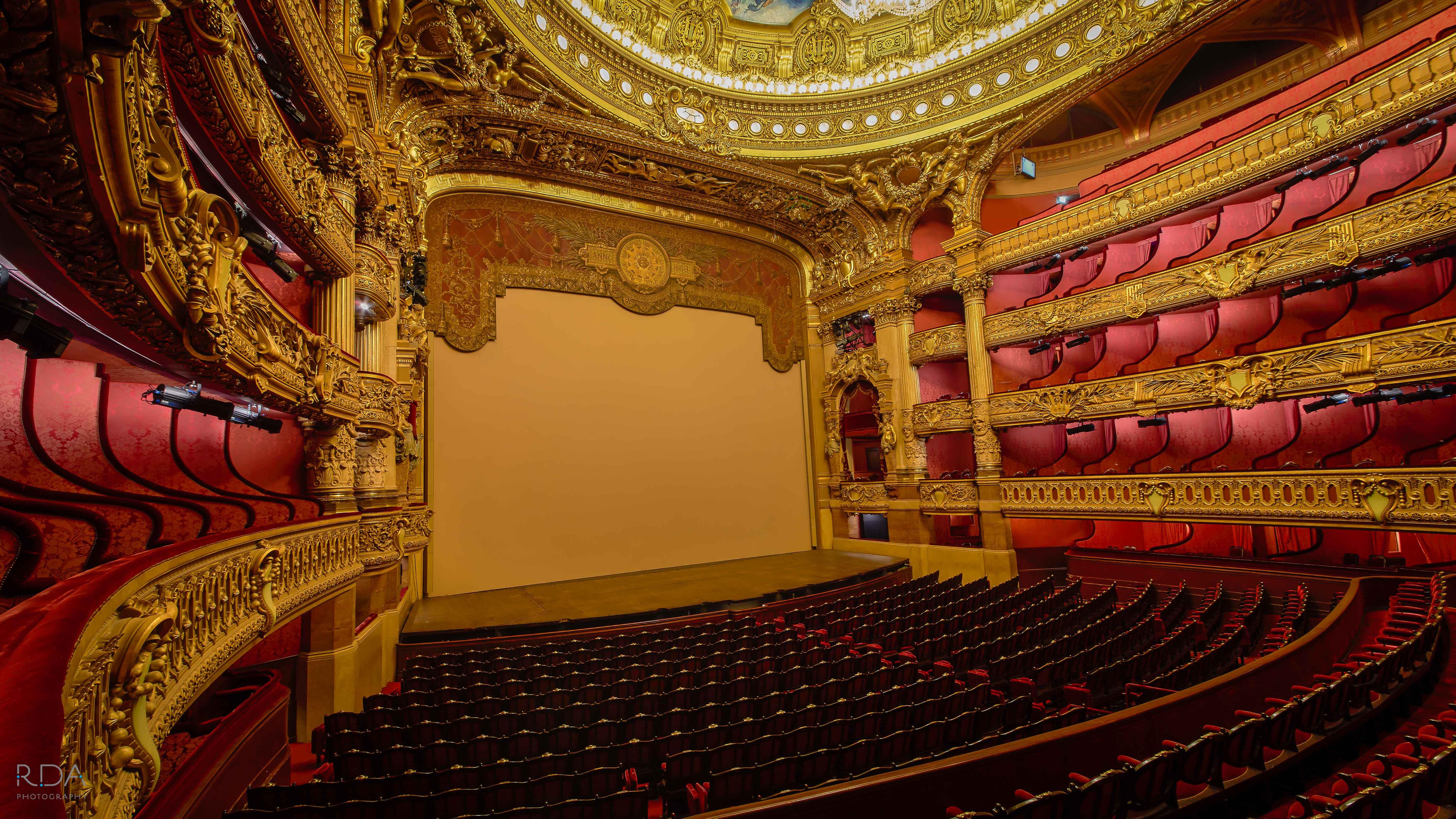 Paris Opera House Theatre Palais Garnier