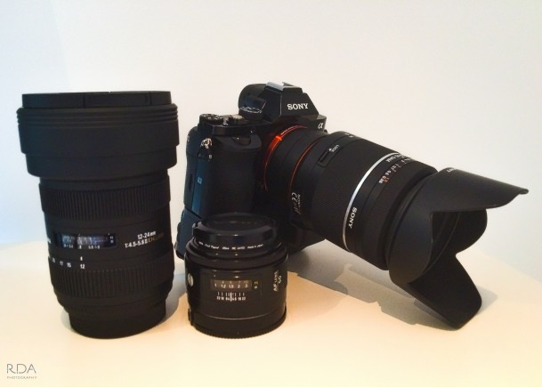 Sony A7 and lenses