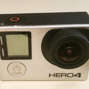 Go Pro Hero 4 Silver: Accident