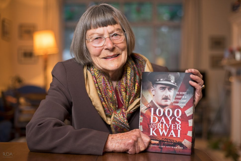 postscript written by the authors daughter for WWII book 1000 Days on the River Kwai