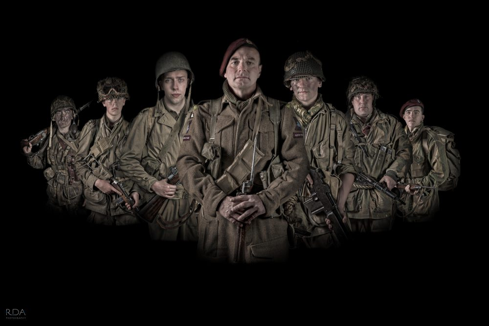 A TIME TO FIGHT- re-enactors