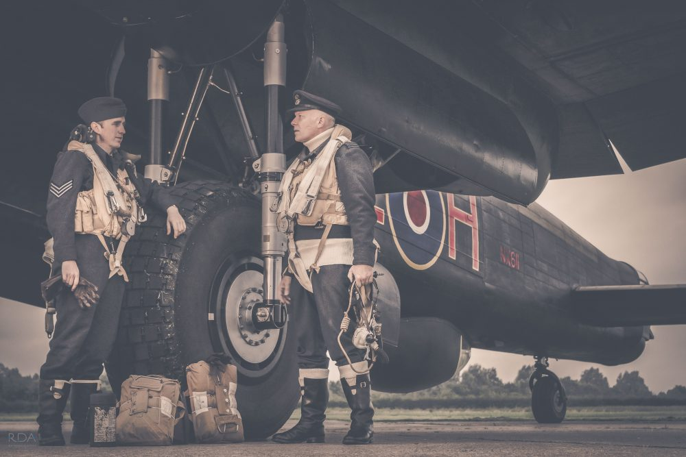 A TIME TO FIGHT - Lancaster bomber crew