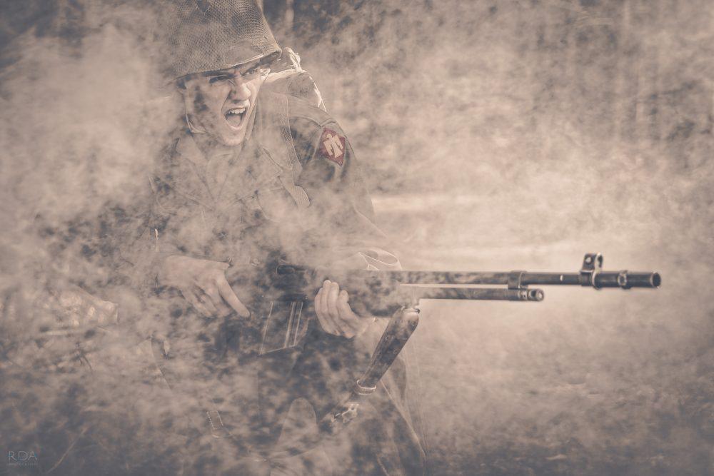 A TIME TO FIGHT- Smoking gun