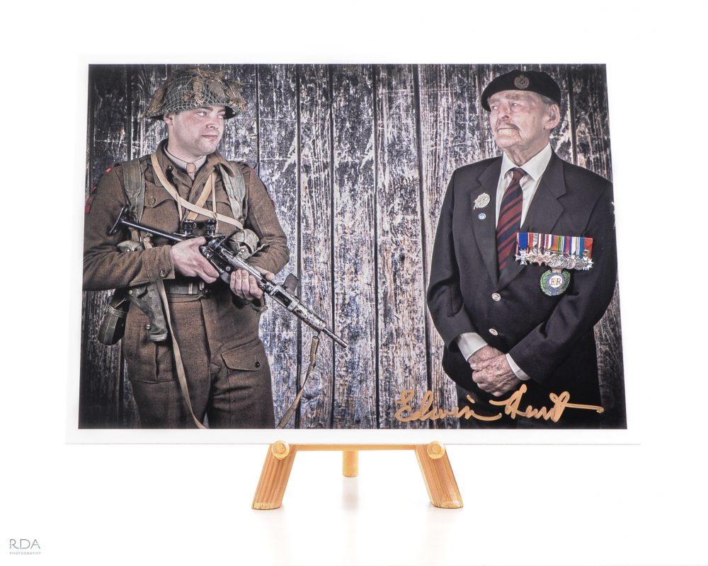 A TIME TO FIGHT Ted Hunt limited edition signed print